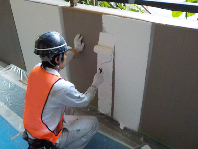 内壁塗装工事